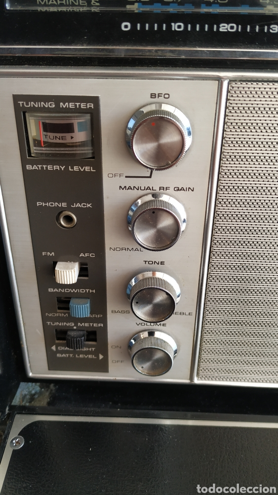Radios antiguas: Radio Zenith trans oceanic RD7000. TOP!! - Foto 16 - 195642196
