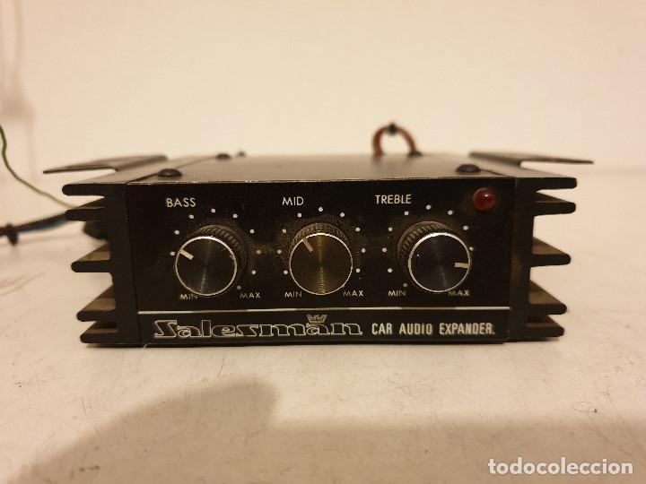 AMPLIFICADOR PARA AUTORRADO DE COCHE (Radios, Gramófonos, Grabadoras y Otros - Transistores, Pick-ups y Otros)
