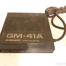 Radios antiguas: AMPLIFICADOR PARA AUTORRADIOS PIONEER GM-41A. Lote 198638462