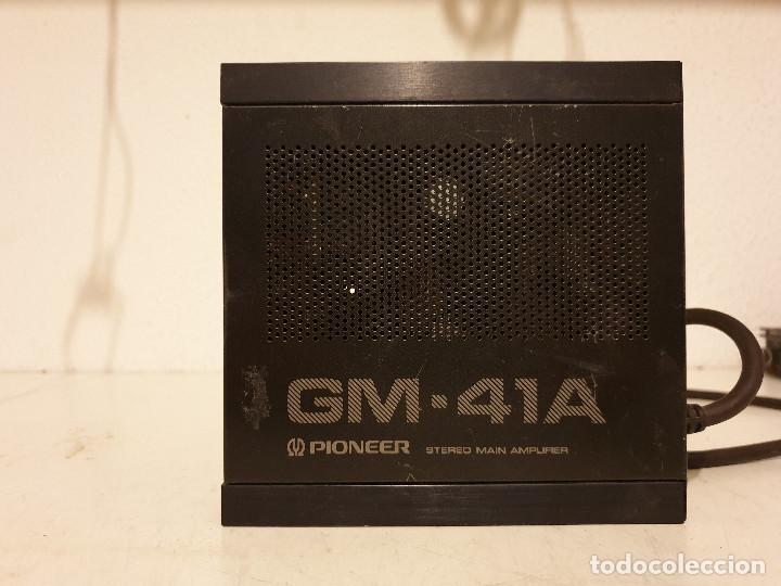 Radios antiguas: AMPLIFICADOR PARA AUTORRADIOS PIONEER GM-41A - Foto 2 - 198638462
