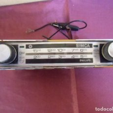 Radios Anciennes: VINTAGE AUTO-RADIO PHILIPS PARA CRYSLER-SIMCA.. Lote 198949963