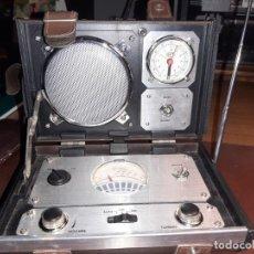 Radios antiguas: RADIO RELOJ MALETIN. Lote 199074806
