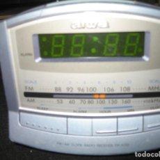 Radios antiguas: RADIO RELOJ DESPERTADOR AIWA FR-A150. Lote 199098172