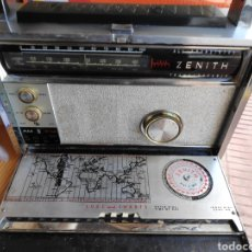 Radios Anciennes: RADIO ZENITH TRANS-OCEANIC FUNCIONA ESTADO REGULAR VER FOTOS. Lote 199190816