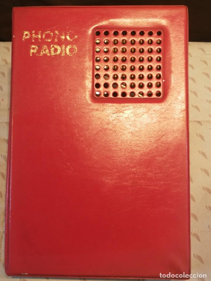 PHONO RADIO TOCADISCO PORTATIL (Radios, Gramófonos, Grabadoras y Otros - Transistores, Pick-ups y Otros)