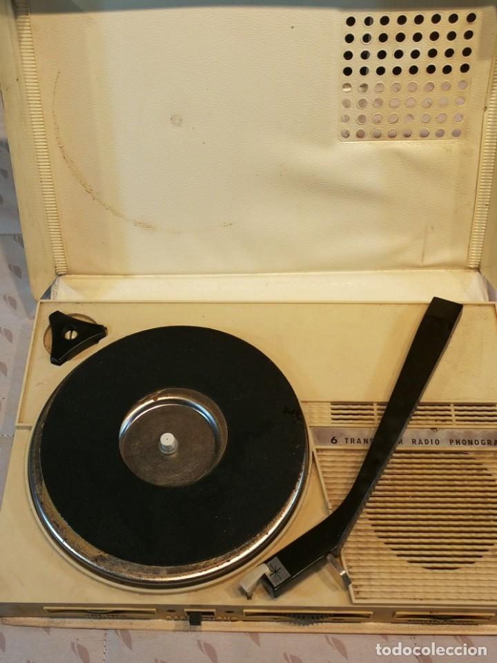 Radios antiguas: PHONO RADIO TOCADISCO PORTATIL - Foto 4 - 199298358
