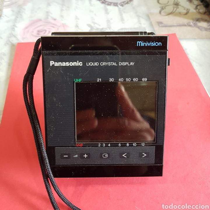 Radios antiguas: TELEVISIÓN PORTÁTIL PANASONIC MINIVISION - Foto 9 - 199498258