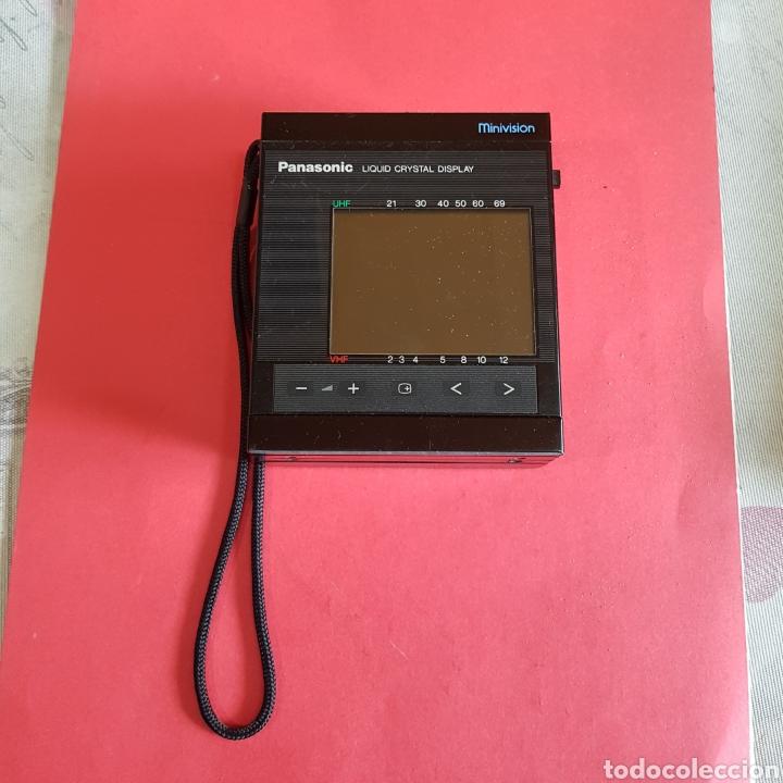 TELEVISIÓN PORTÁTIL PANASONIC MINIVISION (Radios, Gramófonos, Grabadoras y Otros - Transistores, Pick-ups y Otros)