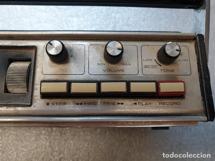 Radios antiguas: RADIO CASSETTE SANYO MODELO MR-4112F - Foto 6 - 199955235