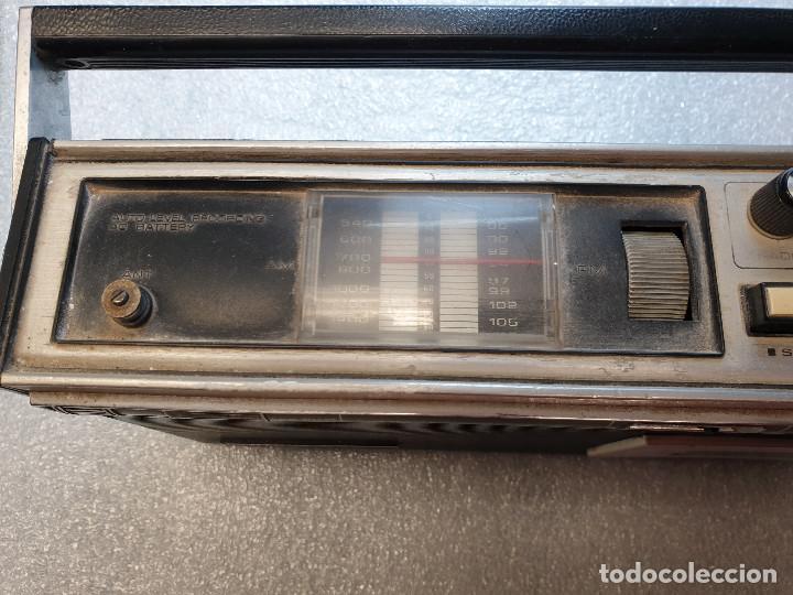 Radios antiguas: RADIO CASSETTE SANYO MODELO MR-4112F - Foto 7 - 199955235
