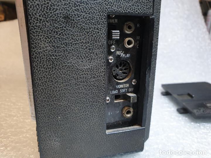 Radios antiguas: RADIO CASSETTE SANYO MODELO MR-4112F - Foto 11 - 199955235