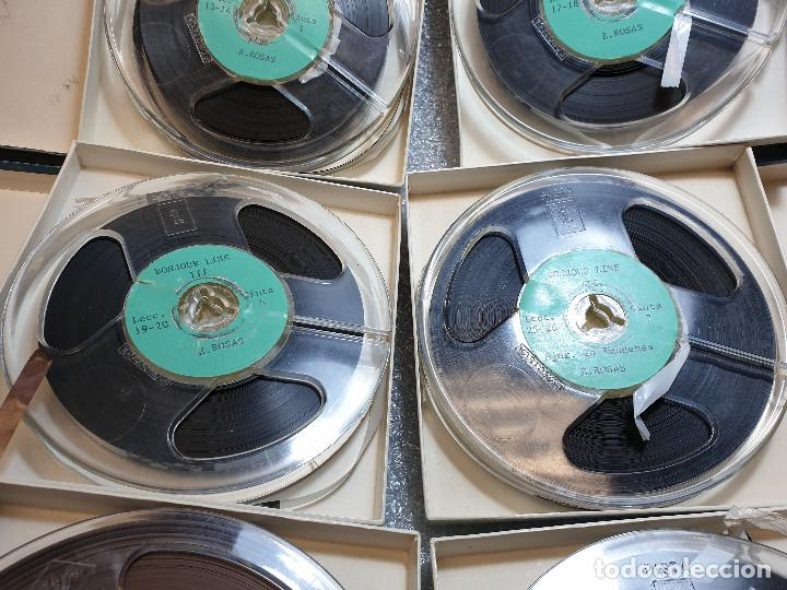 Radios antiguas: LOTE DE 23 BOBINAS DE AUDIO - Foto 5 - 199956981