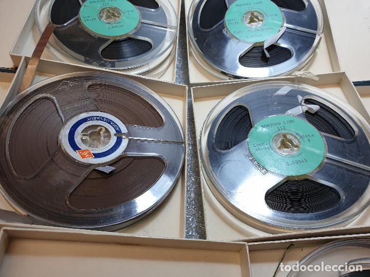 Radios antiguas: LOTE DE 23 BOBINAS DE AUDIO - Foto 6 - 199956981