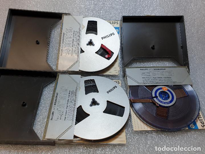 Radios antiguas: LOTE DE 23 BOBINAS DE AUDIO - Foto 21 - 199956981