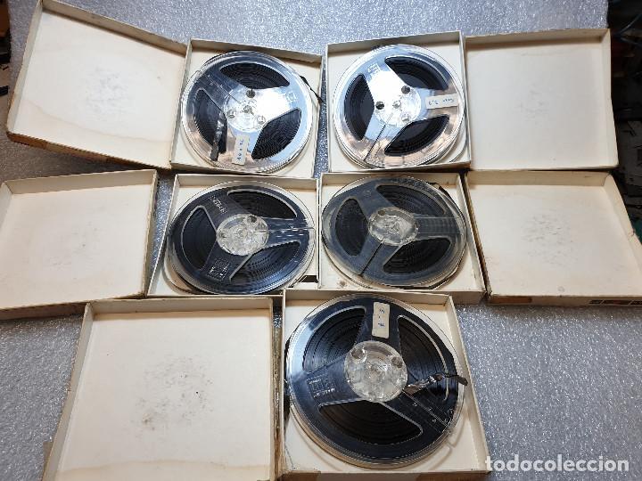 Radios antiguas: LOTE DE 23 BOBINAS DE AUDIO - Foto 22 - 199956981