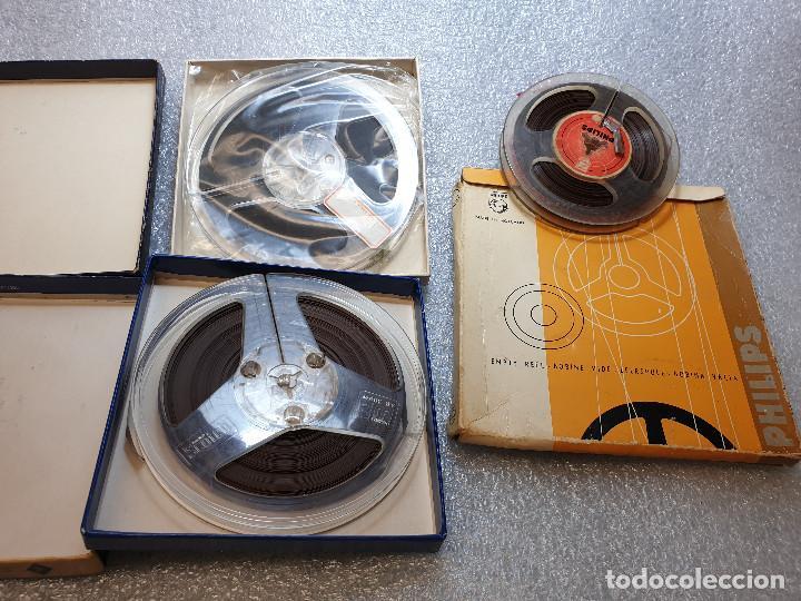 Radios antiguas: LOTE DE 23 BOBINAS DE AUDIO - Foto 26 - 199956981