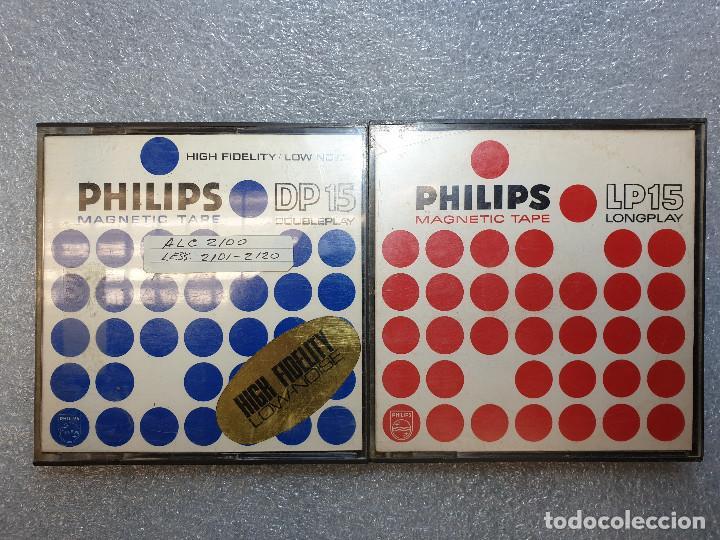 Radios antiguas: LOTE DE 23 BOBINAS DE AUDIO - Foto 28 - 199956981