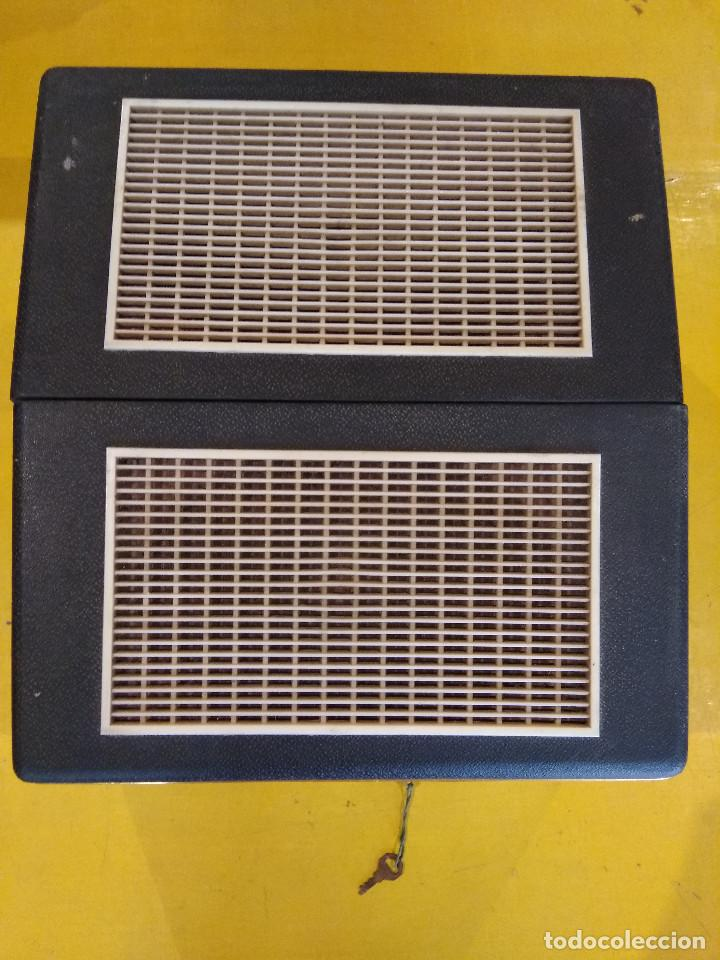 Radios antiguas: MALETÍN TOCADISCOS IBERIA - Stereo - Vintage años 50 / 60 - Foto 8 - 200053248