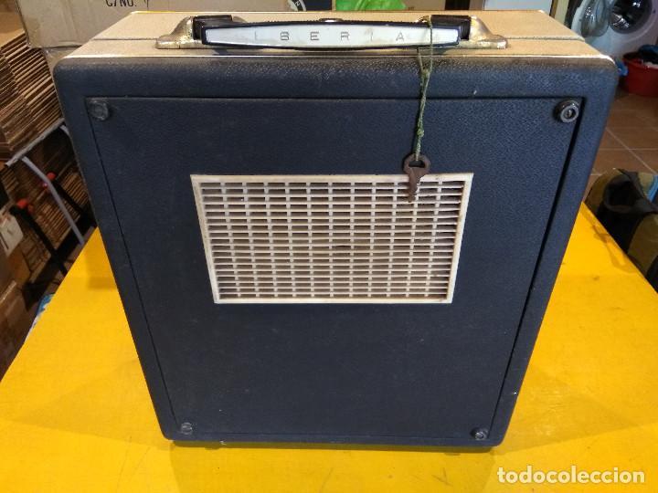 Radios antiguas: MALETÍN TOCADISCOS IBERIA - Stereo - Vintage años 50 / 60 - Foto 9 - 200053248