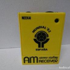 Radios antiguas: RADIO TRANSISTOR NEEKAI. Lote 200092317
