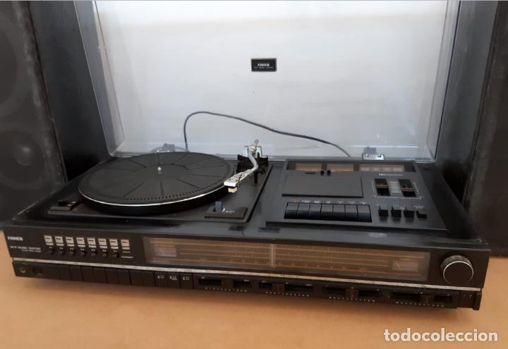 Radios antiguas: TOCADISCOS FISHER MCE-4025 Y ALTAVOCES SME-160. AÑOS 70 - Foto 2 - 200099313