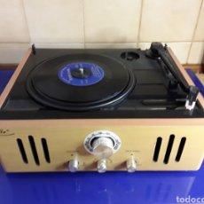 Radios antiguas: TOCADISCOS ELTA,HIFI,RADIO,RADIO,FM,DE MADERA,ALTAVOCES INTEGRADOS,RCA. Lote 200101626