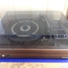 Radios antiguas: TOCADISCOS GRONINGEN SC 1150 EN MADERA. Lote 200103035