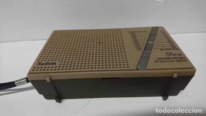 Radios antiguas: Radio transistor Radiola D1016 - Foto 5 - 200342172