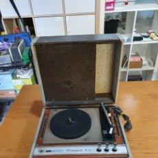 Radios antiguas: TOCADISCOS DE MALETA, MOSELA 5 W, DUAL 410, SIN FUNCIONAR A FALTA DE CÁPSULA Y AGUJA, FALTA CABLE.. Lote 213124131