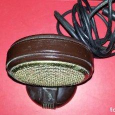 Radios antiguas: MICROFONO GRUNDIG VINTAGE.. Lote 200389653