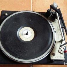 Rádios antigos: TOCADISCOS BSR.. Lote 200657053