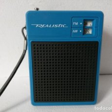Radios antiguas: RADIO TRANSISTOR REALISTIC . Lote 200813115