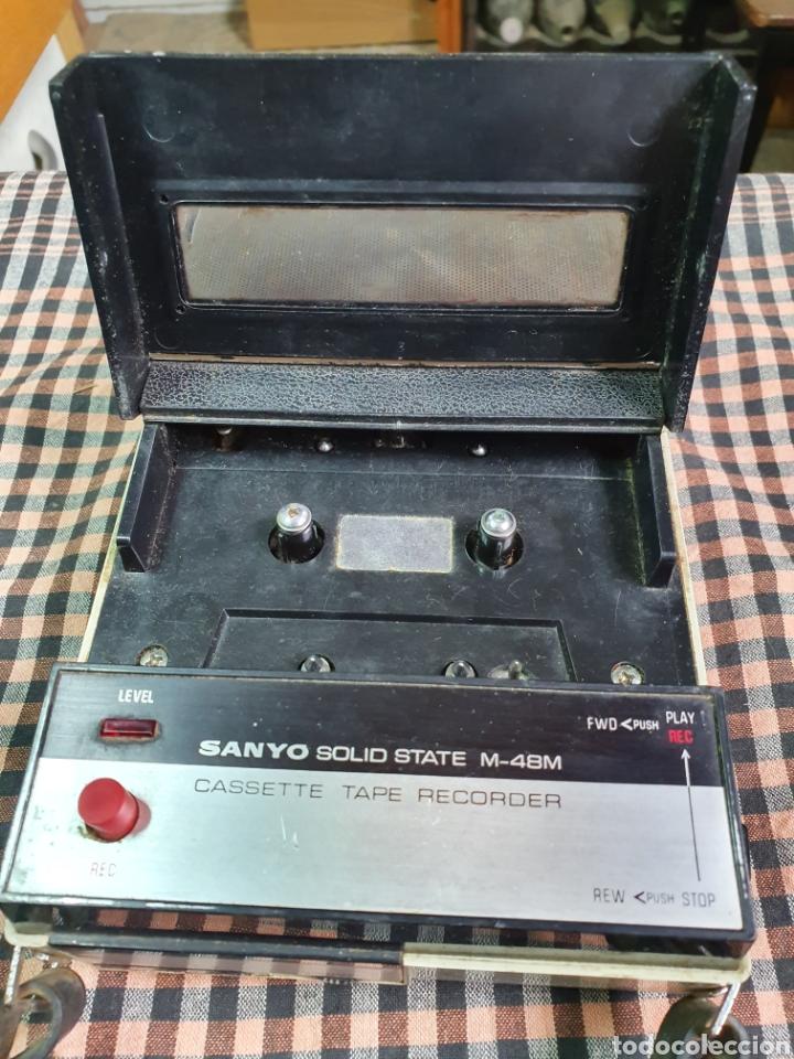 Radios antiguas: Cassette santo m-48 m, tape recorrer, lo que muestran las fotografías. - Foto 3 - 200814185