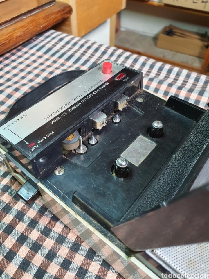 Radios antiguas: Cassette santo m-48 m, tape recorrer, lo que muestran las fotografías. - Foto 4 - 200814185