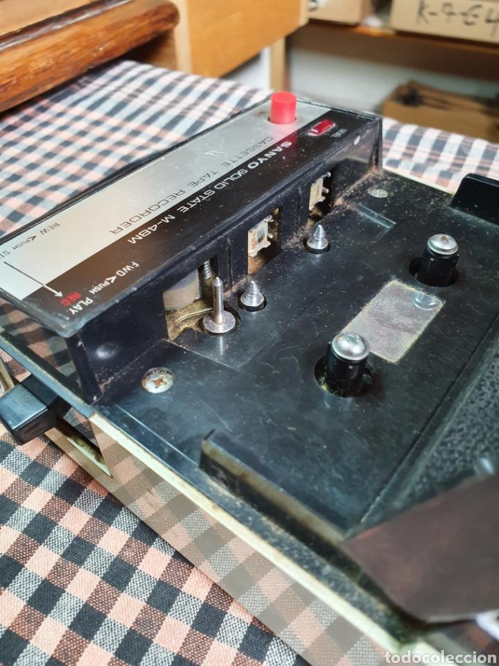 Radios antiguas: Cassette santo m-48 m, tape recorrer, lo que muestran las fotografías. - Foto 5 - 200814185