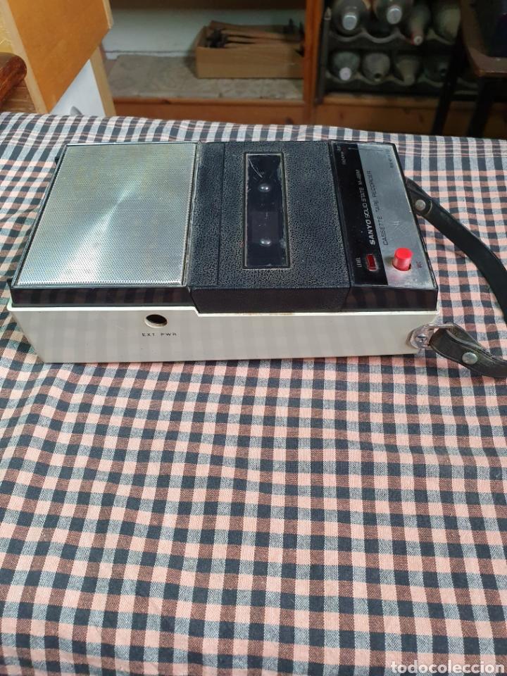 Radios antiguas: Cassette santo m-48 m, tape recorrer, lo que muestran las fotografías. - Foto 7 - 200814185
