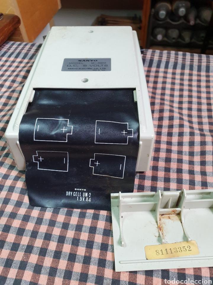 Radios antiguas: Cassette santo m-48 m, tape recorrer, lo que muestran las fotografías. - Foto 13 - 200814185
