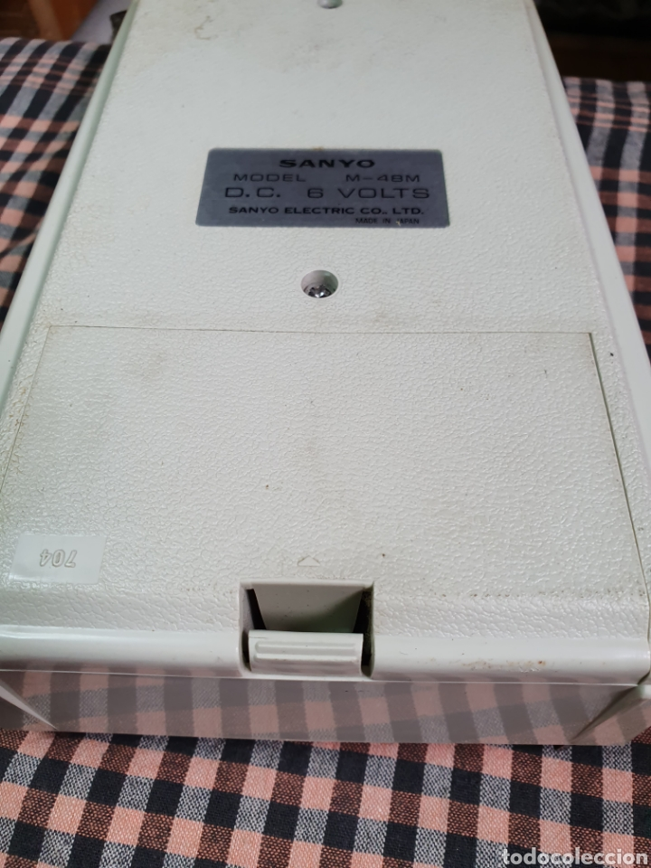Radios antiguas: Cassette santo m-48 m, tape recorrer, lo que muestran las fotografías. - Foto 16 - 200814185