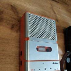 Radios antiguas: CASSETE INTER NARANJA. Lote 201326472