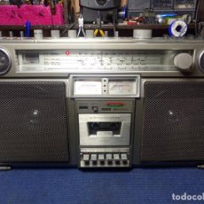 Radios antiguas: RADIO CASSETTE BOOMBOX CROWN CSC 980F. Lote 201498605