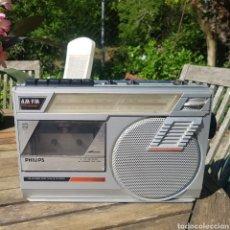 Radios antiguas: RADIOCASETE PHILIPS 07150. Lote 201821990