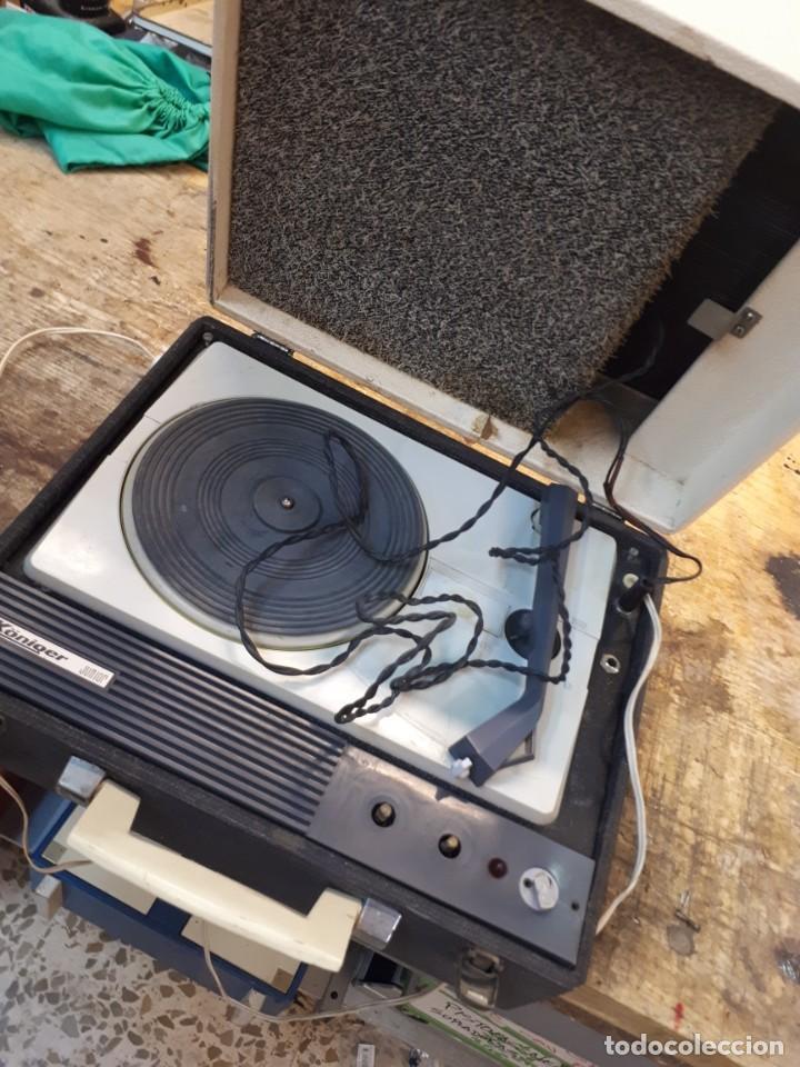 Radios antiguas: Tocadiscos Koniger Junior - Foto 2 - 202037338