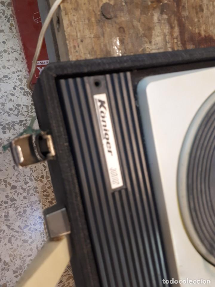 Radios antiguas: Tocadiscos Koniger Junior - Foto 3 - 202037338