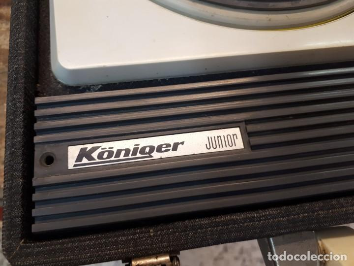 Radios antiguas: Tocadiscos Koniger Junior - Foto 4 - 202037338
