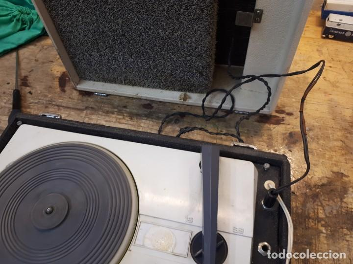 Radios antiguas: Tocadiscos Koniger Junior - Foto 17 - 202037338