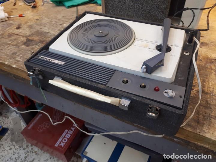 Radios antiguas: Tocadiscos Koniger Junior - Foto 19 - 202037338