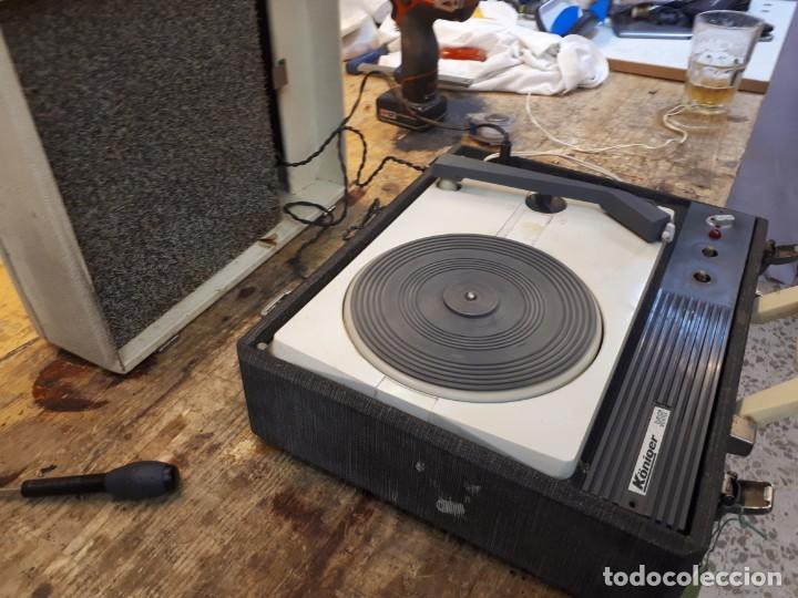 Radios antiguas: Tocadiscos Koniger Junior - Foto 20 - 202037338