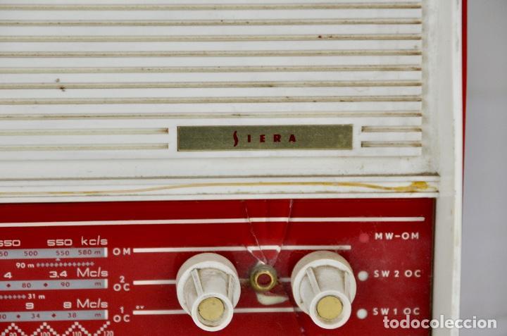 Radios antiguas: Radio Siera años 60 - Foto 4 - 202044827
