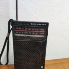 Radio antiche: RADIO TRANSISTOR SANYO RP5065D PUBLICIDAD BANCO DE VALENCIA. Lote 202109335