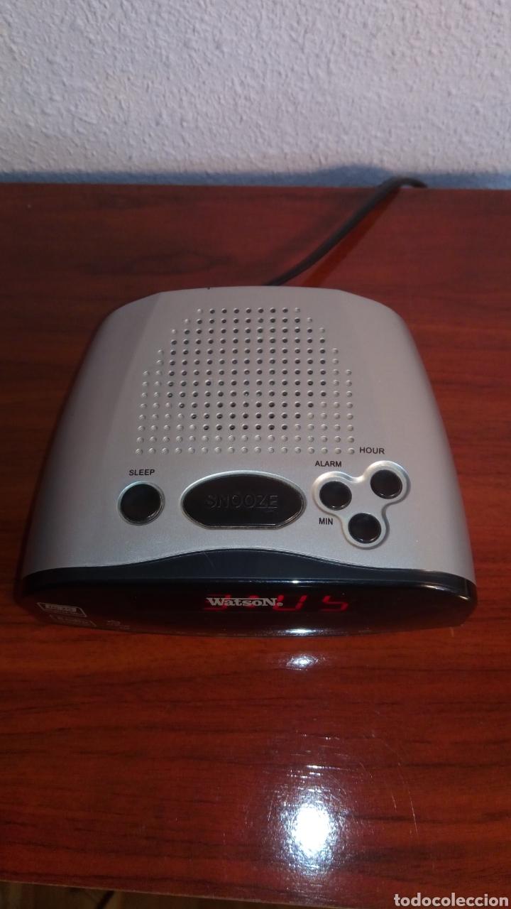 Radios antiguas: RADIO RELOJ DIGITAL WATSON - Foto 2 - 202481175